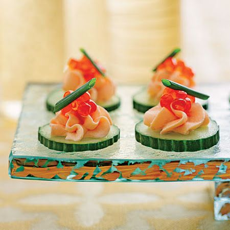 Smoked salmon mousse canap s appetizers pinterest for Canape garnishes