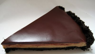 Chocolate-Glazed Peanut Butter Tart | Peanut Butter Shrine | Pinterest