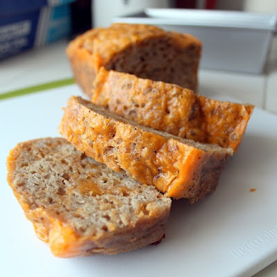 Guinness Cheddar Beer Bread [Chomping Board]- the cheddar in this was ...