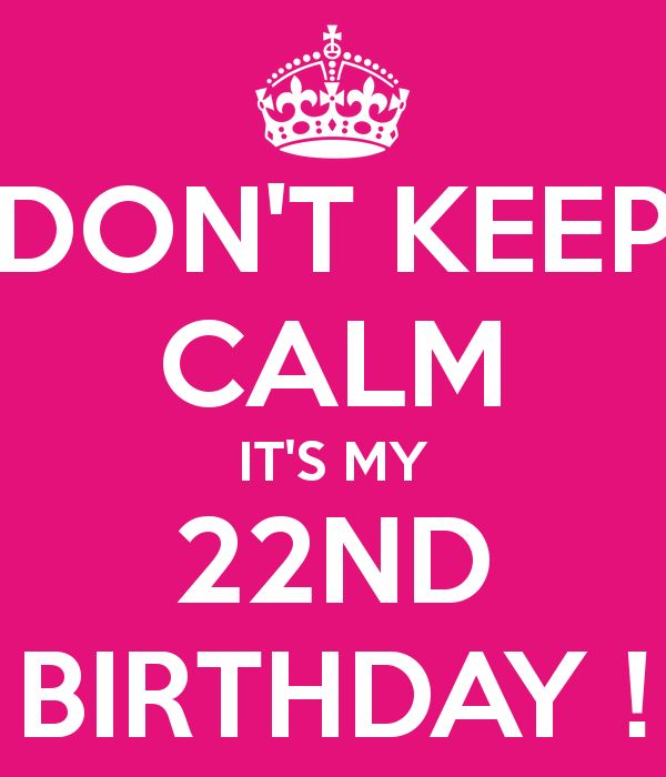 22nd Birthday Quotes. QuotesGram