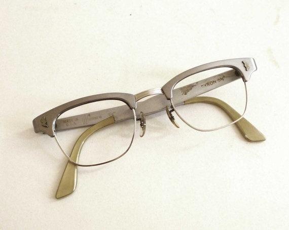Brushed Aluminum: Brushed Aluminum Glasses Frames
