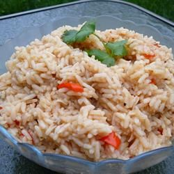 Rice Pilaf ~ This was a nice side dish to our dinner of: 'Southwestern ...