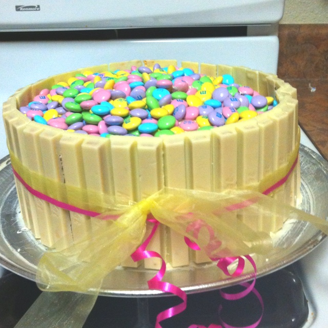 Easter Basket Cake With Kit Kats Kit Kat Basket Of Mums Cakes By