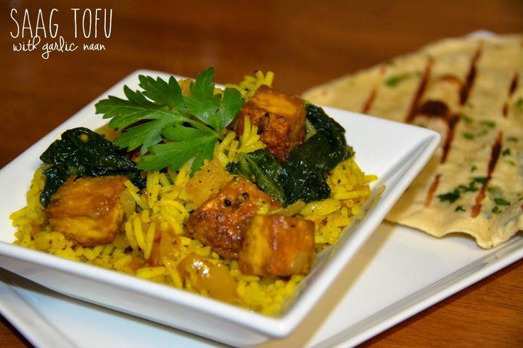 Newly Vegans | Saag Tofu | Newly Vegans | Pinterest
