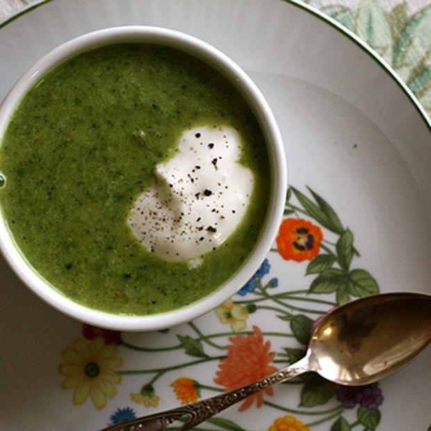 Broccoli And Arugula Soup | AV friendly recipes | Pinterest