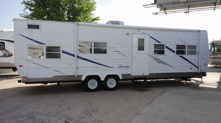 term living travel trailer this one is worth a look luxury by design