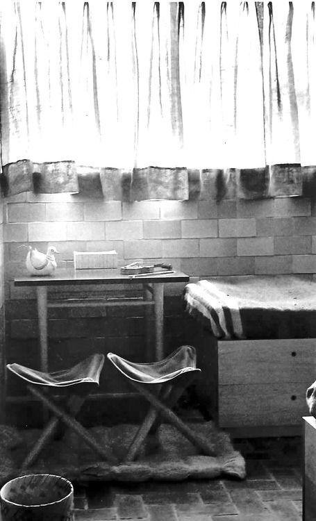 Muebles de bajo costo para los interiores del Multifamiliar Miguel