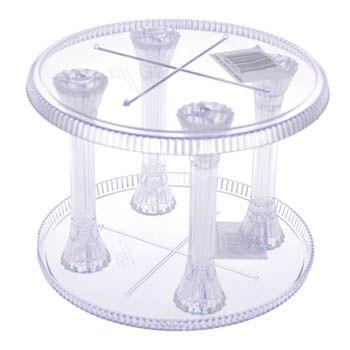 17 Wilton Crystal Look Round Separator Plate