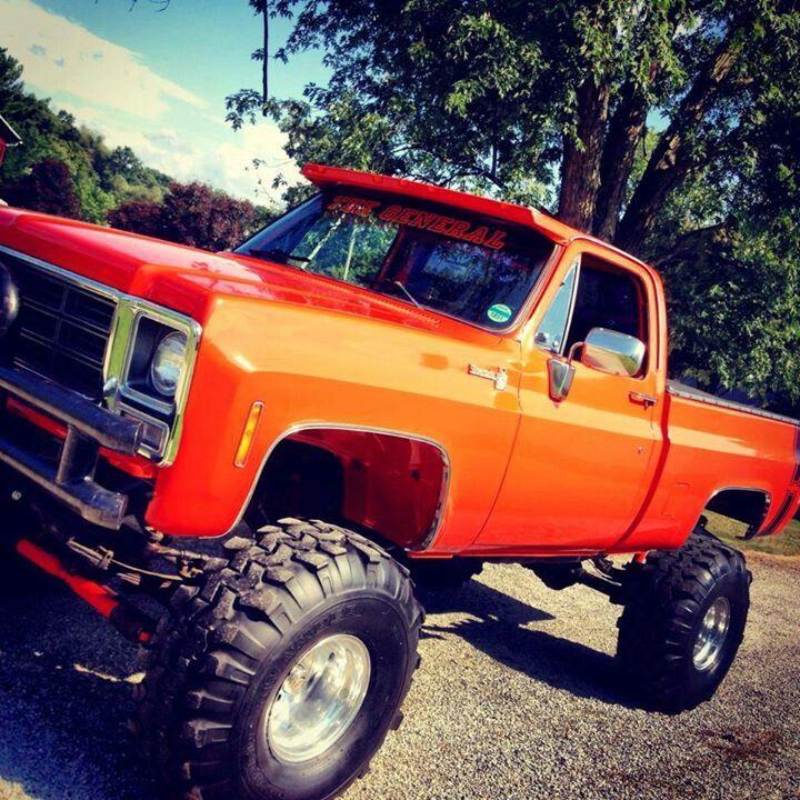 Chevy Work Truck >> Orange!!!! | Truck Yah! ;D | Pinterest