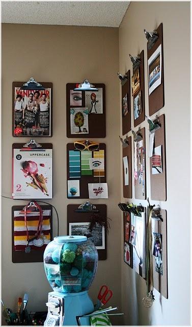 Cool way to display work