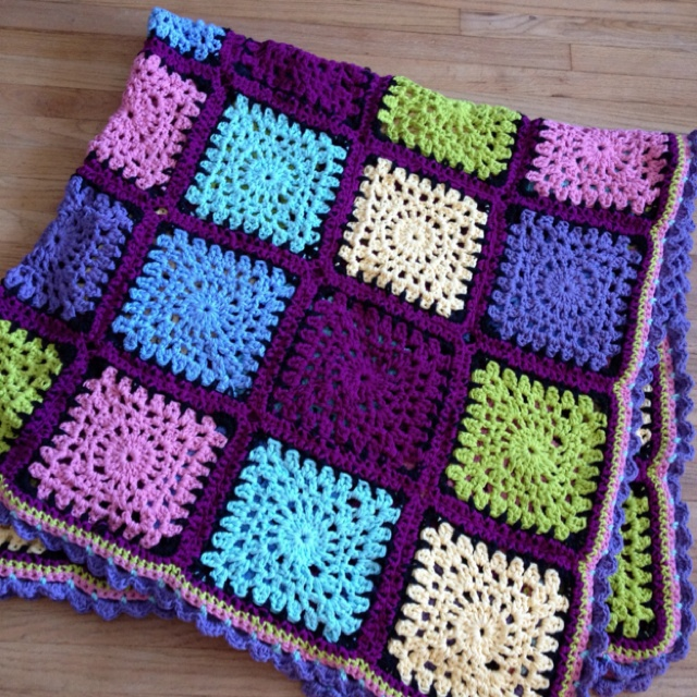 Crochet Stitches Pinterest : Lindsays afghan Crochet Patterns Pinterest