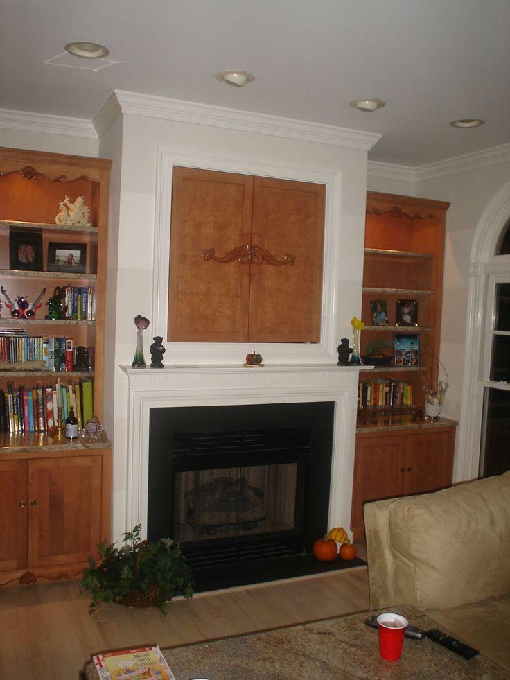 Fireplace Built Ins Pinterest Crafts