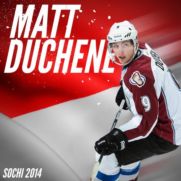 Avs forward Matt Duchene has been named to Canada's 2014 Olympic Team!