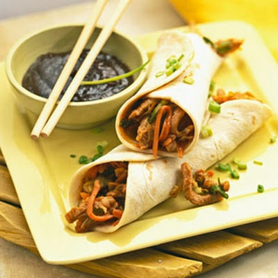 Moo Shu Pork - Recipe.com- I made this for my husband and he loved it ...
