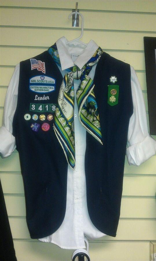 Adult girl scout uniform