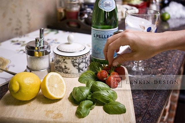 More like this: basil soda , strawberry lemon and sodas .