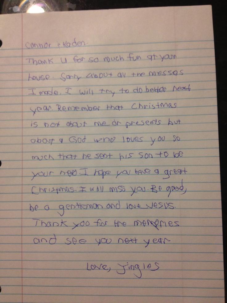 Goodbye letter from elf on the shelf | Elf on the Shelf | Pinterest