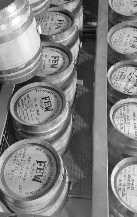 Few Distillery Tour - White Whiskey & Gin Sampling