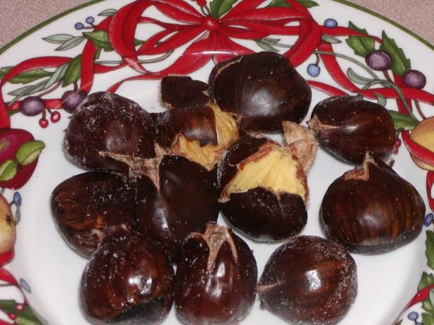 Roasted Chestnuts Oven or Stove Top from Food.com: This is a pretty ...