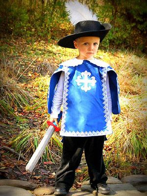 ... costume... if the boys love The Three Musketeers as much as I do