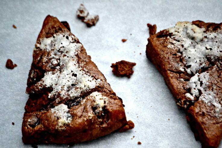 GF Cherry Chocolate Chip Scones. | Scones: Gluten-free | Pinterest