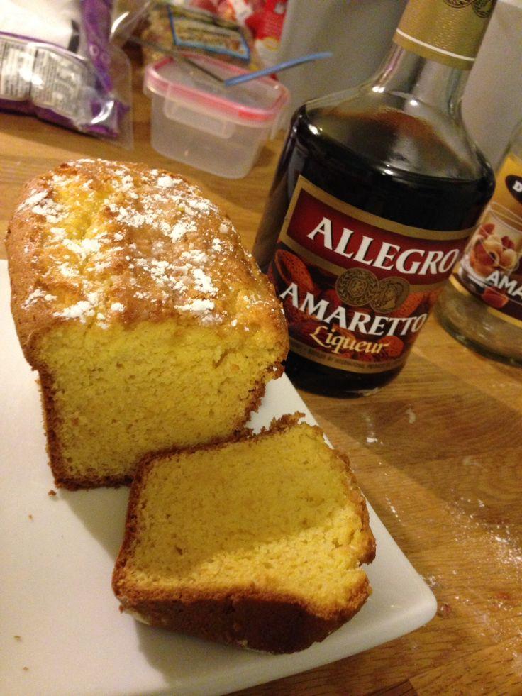 Homemade Amaretto Pound Cake | Sweet Tooth | Pinterest