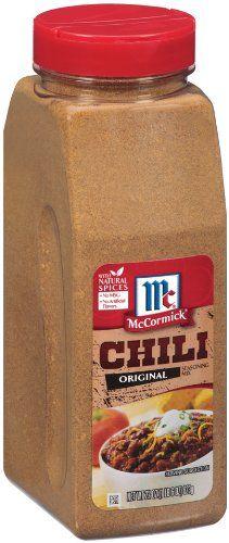Chili Seasoning, 22-Ounce - http://spicegrinder.biz/mccormick-chili ...