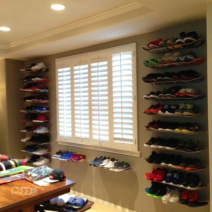 skateboard shelves one pinterest. Black Bedroom Furniture Sets. Home Design Ideas
