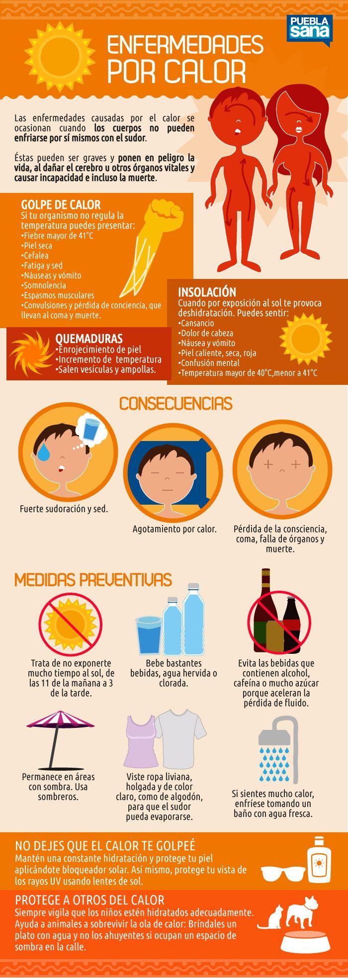 En caso de extremo calor, recuerda siempre mantenerte hidratado y usar un buen protector sola ¡Cuídate y cuida a los que más quieres!