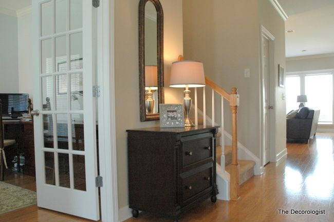 Hallway Neutral Paint Options Decorating Ideas To