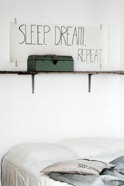 kunst-oplossing voor boven je bed heb je alleen een tekenrol (ikea ...