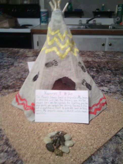 Tipi house project
