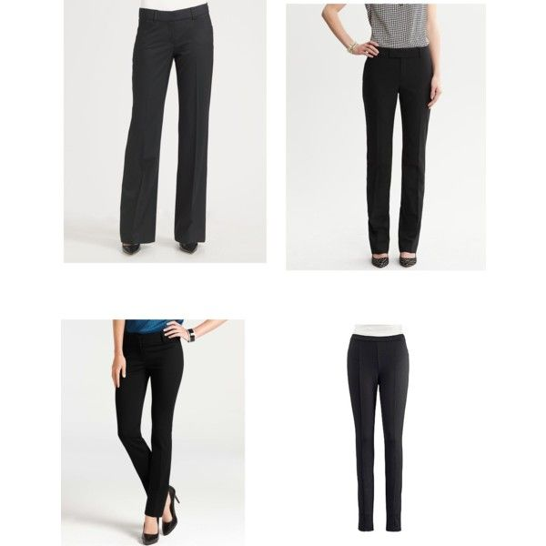 """""""Best Black Pants for Style Dial #2"""" by nadam1 on Polyvore"""