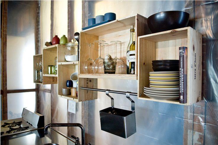 Keuken Decoratie Ideeen : wijnkisten keuken Kreaklup Pinterest