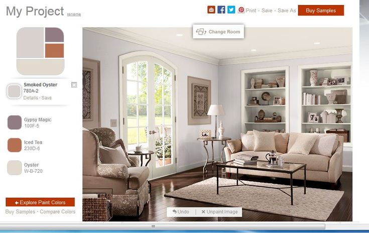 Wall paint color smoked oyster behr new home ideas for Benjamin moore smoked oyster paint color