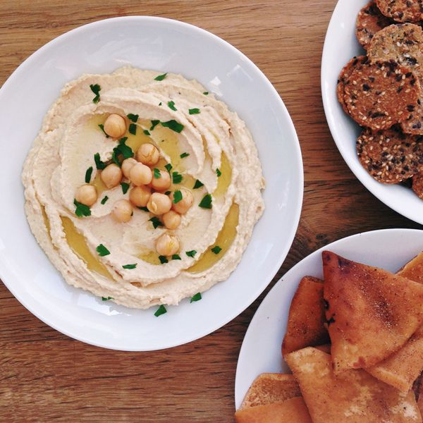Basic Hummus | Ottolenghi {recipe} | Food Inspirations | Pinterest