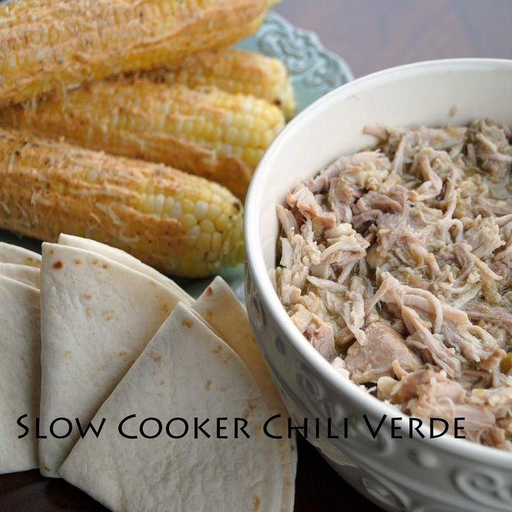 Slow Cooker Chili Verde | Dinner Ideas | Pinterest