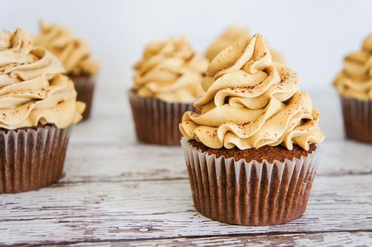 suz bakes: chocolate espresso cupcakes.
