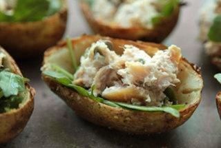 Smoked Trout Potato Skins | Seafood .:. Shrimp .:. Fish | Pinterest