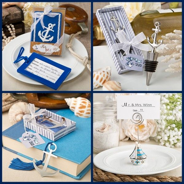 Nautical Wedding Party Favors