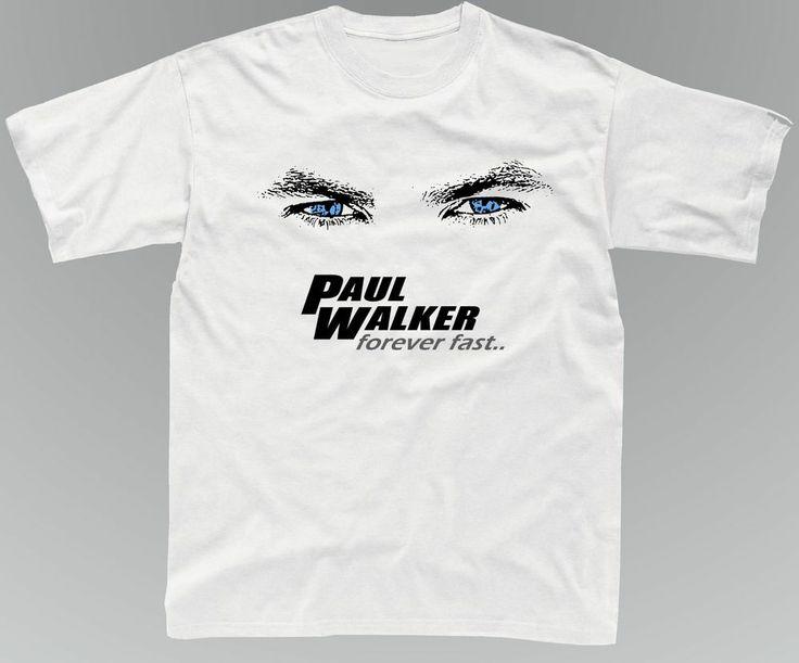 Paul Walker T Shirt Fast The Furious Actor Memoriam Tee