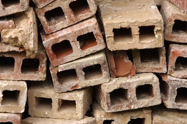 Landscaping Uses for Broken Bricks