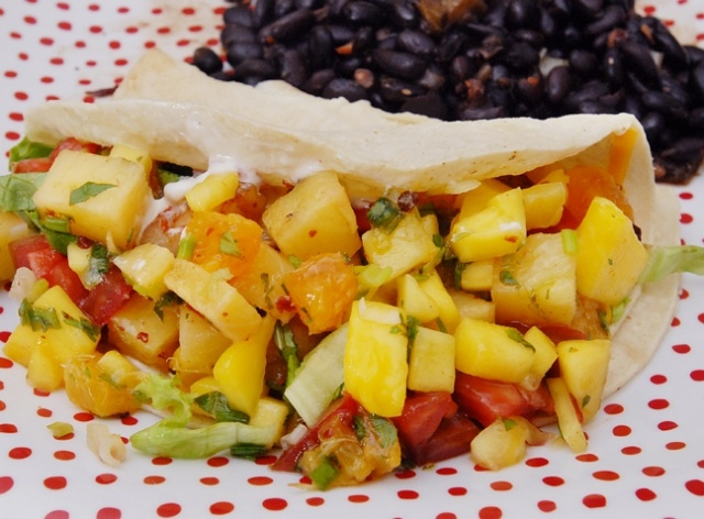 Grilled pineapple salsa | Grillin' and Smokin' | Pinterest