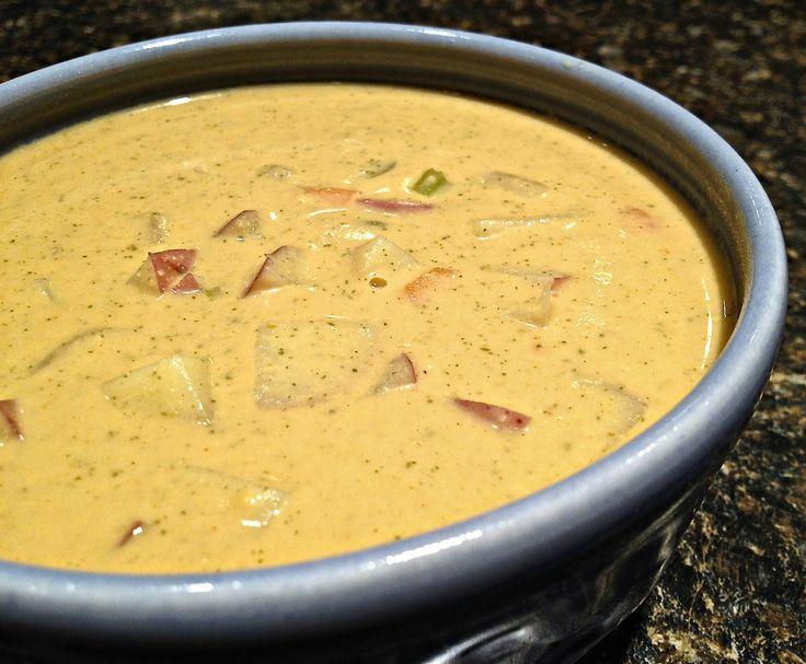Cheesiest Potato Soup #vegan | veg. | Pinterest