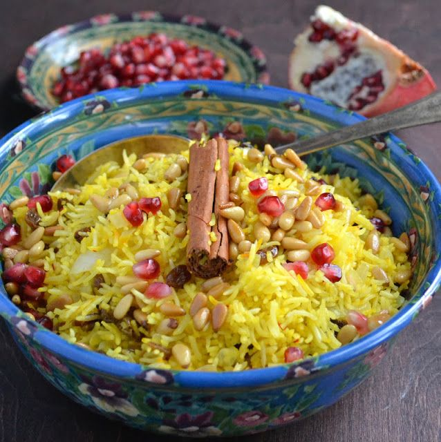 Saffron Rice with Golden Raisins and Pine Nuts | E a t | S i d e ...
