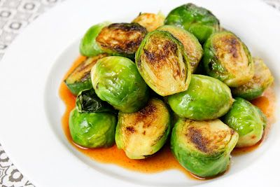 Brussels Sprouts with Sriracha, Honey, and Lime recipe