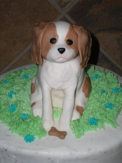 Cavalier King Charles Spaniel Puppy Birthday Cake By Justforfun751 on ...
