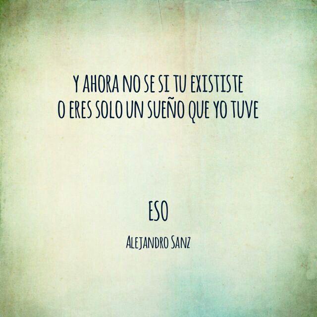 eso alejandro: