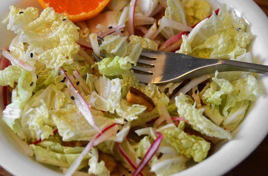 Napa Cabbage and Tofu Salad | Recipe