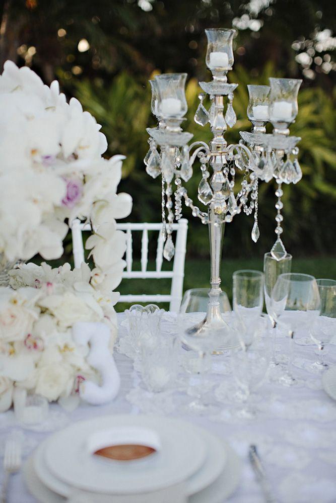 Back Yard Wedding Decoration Idea
